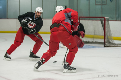 August 30, 2013.  Carolina Hurricanes preseason practice at Raleigh Center Ice, Raleigh, NC.  Copyright © 2013 Jamie Kellner. All rights reserved.