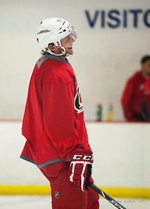 Drayson Bowman. August 30, 2013.  Carolina Hurricanes preseason practice at Raleigh Center Ice, Raleigh, NC.  Copyright © 2013 Jamie Kellner. All rights reserved.