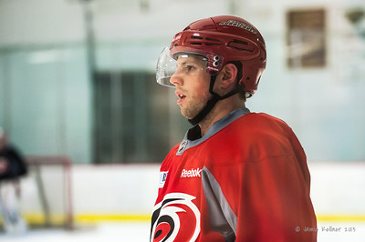 Nathan Gerbe. September 6, 2013. Carolina Hurricanes preseason skate at Raleigh Center Ice, Raleigh, NC.  Copyright © 2013 Jamie Kellner. All rights reserved.