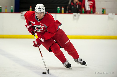 Tuomo Ruutu. September 6, 2013. Carolina Hurricanes preseason skate at Raleigh Center Ice, Raleigh, NC.  Copyright © 2013 Jamie Kellner. All rights reserved.