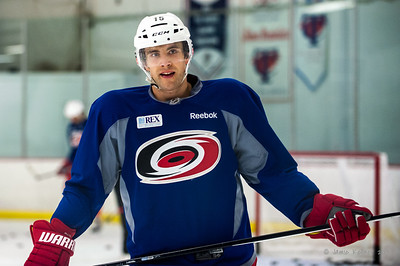 Tuomo Ruutu. October 12, 2013.  Carolina Hurricanes practice at Raleigh Center Ice, Raleigh, NC.  Copyright © 2013 Jamie Kellner. All rights reserved.