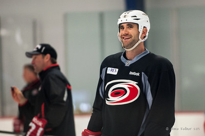 Jay Harrison. October 23, 2013. Carolina Hurricanes practice at Raleigh Center Ice, Raleigh, NC.  Copyright © 2013 Jamie Kellner. All rights reserved.