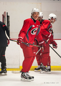 Alex Semin. October 23, 2013. Carolina Hurricanes practice at Raleigh Center Ice, Raleigh, NC.  Copyright © 2013 Jamie Kellner. All rights reserved.