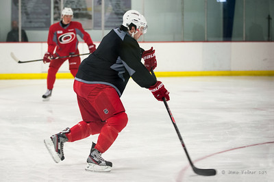 Power play practice. October 23, 2013. Carolina Hurricanes practice at Raleigh Center Ice, Raleigh, NC.  Copyright © 2013 Jamie Kellner. All rights reserved.