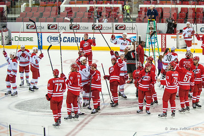 September 15, 2013. Carolina Hurricanes Caniac Carnival Red-White Scrimmage, PNC Arena, Raleigh, NC.  Copyright © 2013 Jamie Kellner. All rights reserved.