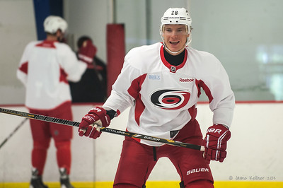 Alex Semin. September 13, 2013. Carolina Hurricanes training camp practice at Raleigh Center Ice, Raleigh, NC.  Copyright © 2013 Jamie Kellner. All rights reserved.