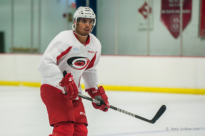 Austin Levi. September 13, 2013. Carolina Hurricanes training camp practice at Raleigh Center Ice, Raleigh, NC.  Copyright © 2013 Jamie Kellner. All rights reserved.