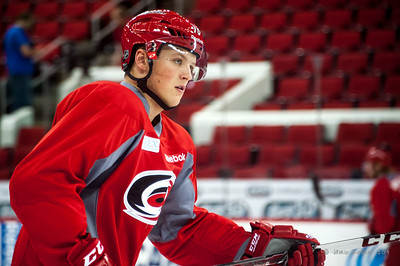 Dryden Hunt. July 24, 2014. Carolina Hurricanes Prospect Development Camp, PNC Arena, Raleigh, NC. Coyright © 2014 Jamie Kellner. All Rights Reserved.