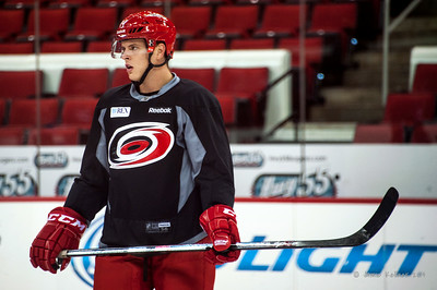 Jacob MacDonald. July 24, 2014. Carolina Hurricanes Prospect Development Camp, PNC Arena, Raleigh, NC. Coyright © 2014 Jamie Kellner. All Rights Reserved.