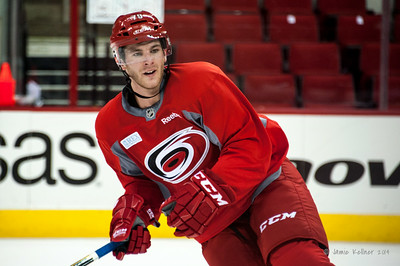 Bryan Moore. July 24, 2014. Carolina Hurricanes Prospect Development Camp, PNC Arena, Raleigh, NC. Coyright © 2014 Jamie Kellner. All Rights Reserved.