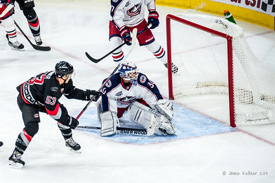 November 7, 2014. Carolina Hurricanes vs. Columbus Blue Jackets, PNC Arena, Raleigh, NC. Copyright © 2014 Jamie Kellner. All rights reserved.