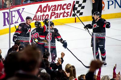 January 4, 2015. Carolina Hurricanes vs. Boston Bruins, PNC Arena, Raleigh, NC. Copyright © 2015 Jamie Kellner. All rights reserved.