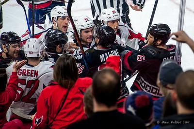 February 27, 2015. Carolina Hurricanes vs. Washington Capitals, PNC Arena, Raleigh, NC. Copyright © 2015 Jamie Kellner. All rights reserved.