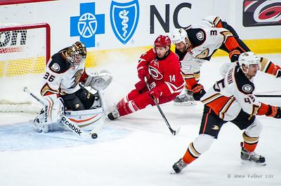 February 12, 2015. Carolina Hurricanes vs. Anaheim Ducks, PNC Arena, Raleigh, NC. Copyright © 2015 Jamie Kellner. All rights reserved.