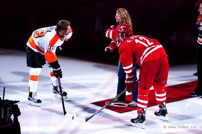 April 4, 2015. Carolina Hurricanes vs. Philadelphia Flyers, PNC Arena, Raleigh, NC. Copyright © 2015 Jamie Kellner. All rights reserved.