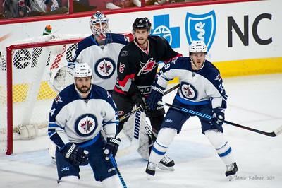 November 13, 2014. Carolina Hurricanes vs. Winnipeg Jets, PNC Arena, Raleigh, NC. Copyright © 2014 Jamie Kellner. All Rights Reserved.