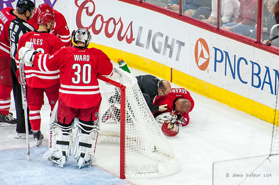 October 14, 2014. Carolina Hurricanes vs. Buffalo Sabres, PNC Arena, Raleigh, NC. Copyright © 2014 Jamie Kellner. All Rights Reserved.