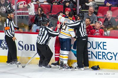 October 14, 2014. Carolina Hurricanes vs. Buffalo Sabres, PNC Arena, Raleigh, NC. Copyright © 2014 Jamie Kellner. All Rights Reserved.