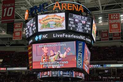 December 21, 2015. Carolina Hurricanes vs Washington Capitals, PNC Arena, Raleigh, NC. Copyright © 2015 Jamie Kellner. All Rights Reserved.