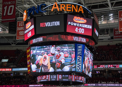 March 27, 2016. Carolina Hurricanes vs New Jersey Devils, PNC Arena, Raleigh, NC. Copyright © 2016 Jamie Kellner. All Rights Reserved.