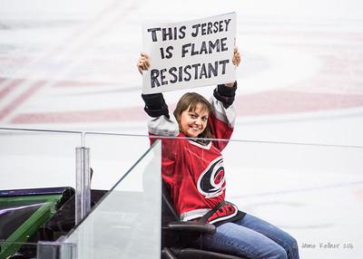 January 24, 2016. Carolina Hurricanes vs Calgary Flames, PNC Arena, Raleigh, NC. Copyright © 2016 Jamie Kellner. All Rights Reserved.