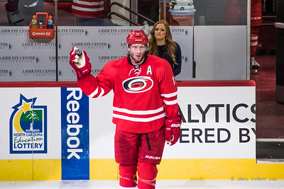 February 13, 2016. Carolina Hurricanes vs New York Islanders, PNC Arena, Raleigh, NC. Copyright © 2016 Jamie Kellner. All Rights Reserved.