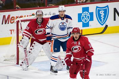 November 25, 2015. Carolina Hurricanes vs Edmonton Oilers, PNC Arena, Raleigh, NC. Copyright © 2015 Jamie Kellner. All Rights Reserved.