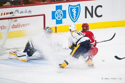 January 2, 2016. Carolina Hurricanes vs Nashville Predators, PNC Arena, Raleigh, NC. Copyright © 2016 Jamie Kellner. All Rights Reserved.