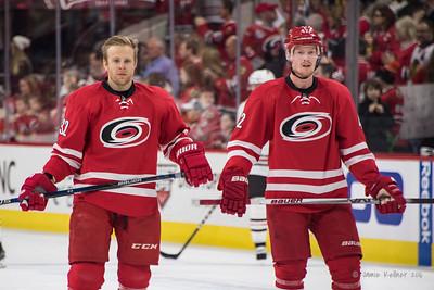 Kris Versteeg and Joakim Nordstrom