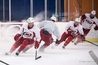 September 1, 2015. Carolina Hurricanes informal preseason practice at Raleigh Center Ice. Copyright © 2015 Jamie Kellner. All Rights Reserved.