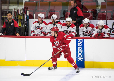 September 20, 2015. Carolina Hurricanes Caniac Carnival Scrimmage, PNC Arena, Raleigh, NC. Copyright © 2015 Jamie Kellner. All Rights Reserved.