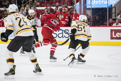 December 17, 2016. Carolina Hurricanes vs. Boston Bruins, PNC Arena, Raleigh, NC. Copyright © 2016 Jamie Kellner. All Rights Reserved.