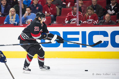 December 13, 2016. Carolina Hurricanes vs. Vancouver Canucks, PNC Arena, Raleigh, NC. Copyright © 2016 Jamie Kellner. All Rights Reserved.