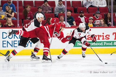 January 3, 2017. Carolina Hurricanes vs. New Jersey Devils, PNC Arena, Raleigh, NC. Copyright © 2017 Jamie Kellner. All Rights Reserved.