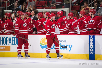 November 6, 2016. Carolina Hurricanes vs. New Jersey Devils, PNC Arena, Raleigh, NC. Copyright © 2016 Jamie Kellner. All Rights Reserved.