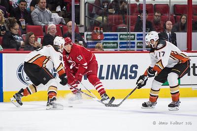 November 10, 2016. Carolina Hurricanes vs. Anaheim Ducks, PNC Arena, Raleigh, NC. Copyright © 2016 Jamie Kellner. All Rights Reserved.