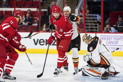 November 10, 2016. Carolina Hurricanes vs. Anaheim Ducks, PNC Arena, Raleigh, NC. Copyright © 2016 Jamie Kellner. All Rights Reserved.