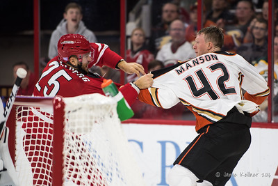 Vicktor Stalberg vs. Josh Manson