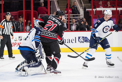 November 20, 2016. Carolina Hurricanes vs. Winnipeg Jets, PNC Arena, Raleigh, NC. Copyright © 2016 Jamie Kellner. All Rights Reserved.
