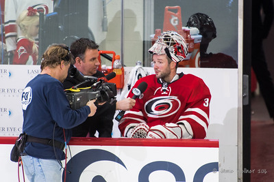 Cam Ward with Mike Maniscalco