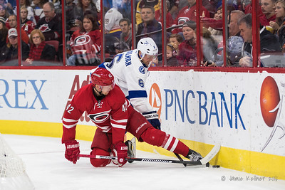 December 4, 2016. Carolina Hurricanes vs. Tampa Bay Lightning, PNC Arena, Raleigh, NC. Copyright © 2016 Jamie Kellner. All Rights Reserved.