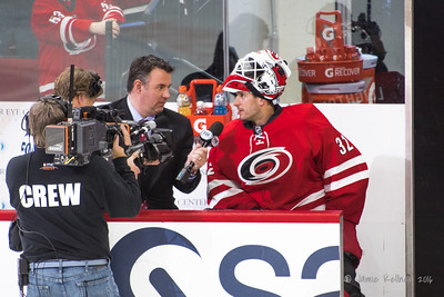 Michael Leighton with Mike Maniscalco