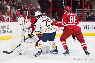 December 17, 2016. Carolina Hurricanes vs. Buffalo Sabres, PNC Arena, Raleigh, NC. Copyright © 2016 Jamie Kellner. All Rights Reserved.