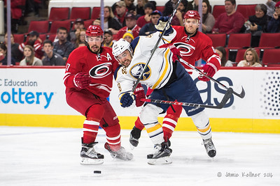 December 17, 2016. Carolina Hurricanes vs. Buffalo Sabres, PNC Arena, Raleigh, NC. Copyright © 2016 Jamie Kellner. All Rights Reserved.