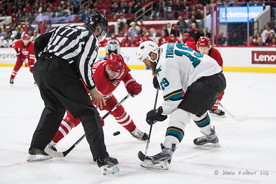 November 15, 2016. Carolina Hurricanes vs. San Jose Sharks, PNC Arena, Raleigh, NC. Copyright © 2016 Jamie Kellner. All Rights Reserved.