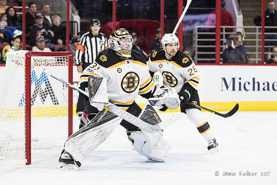 January 8, 2017. Carolina Hurricanes vs. Boston Bruins, PNC Arena, Raleigh, NC. Copyright © 2017 Jamie Kellner. All Rights Reserved.
