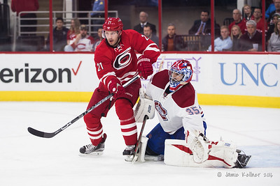 November 18, 2016. Carolina Hurricanes vs. Montreal Canadiens, PNC Arena, Raleigh, NC. Copyright © 2016 Jamie Kellner. All Rights Reserved.