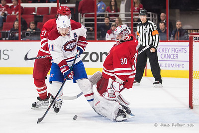 November 18, 2016. Carolina Hurricanes vs. Montreal Canadiens, PNC Arena, Raleigh, NC. Copyright © 2016 Jamie Kellner. All Rights Reserved.