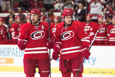 Justin Faulk, Lee Stempniak