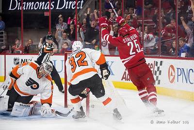 Canes vs. Flyers 10.30.16